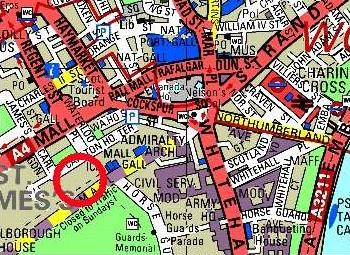 local street map