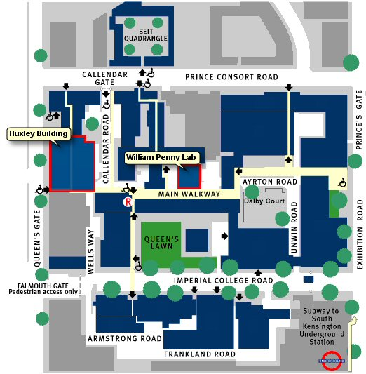 imperial college south kensington campus map Map Travel Information Computing Imperial College London imperial college south kensington campus map